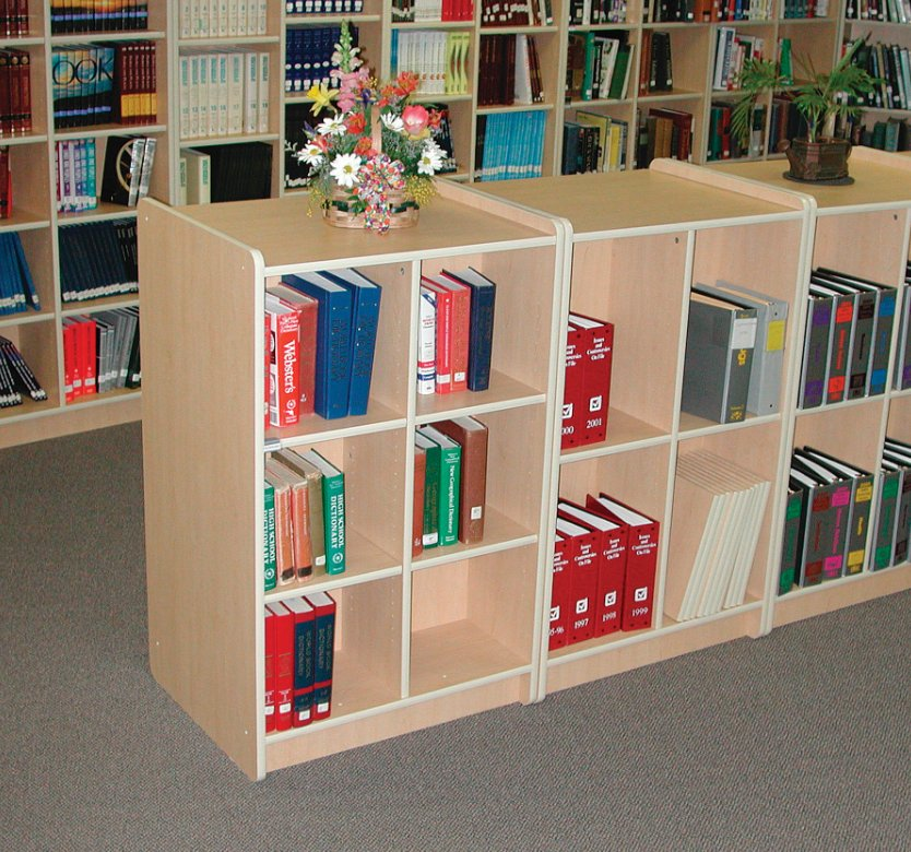 Adjustable Double Sided Bookshelf Benees Furniture