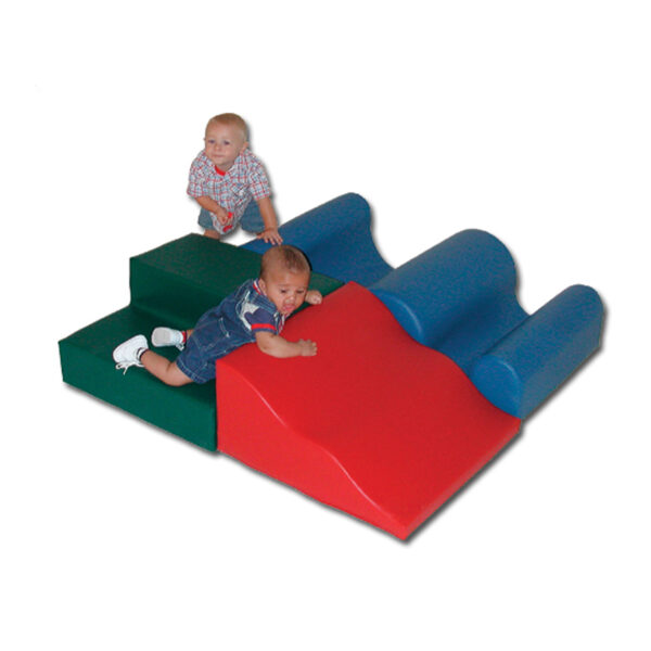 daycare furniture - soft vinyl climbing block set