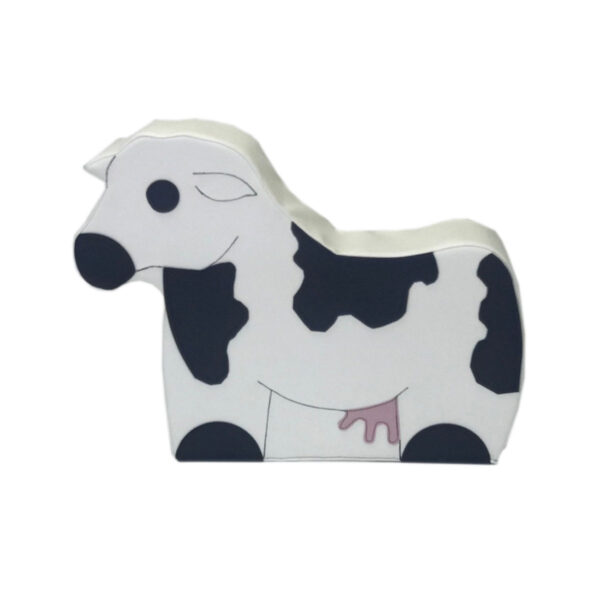 daycare soft seating - clara the cow
