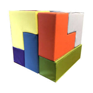 soma cube soft block puzzle